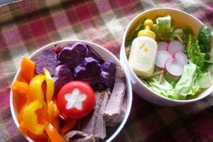 Cold Beef and Potato salad
