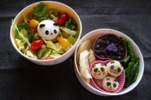 Three Little Pandas