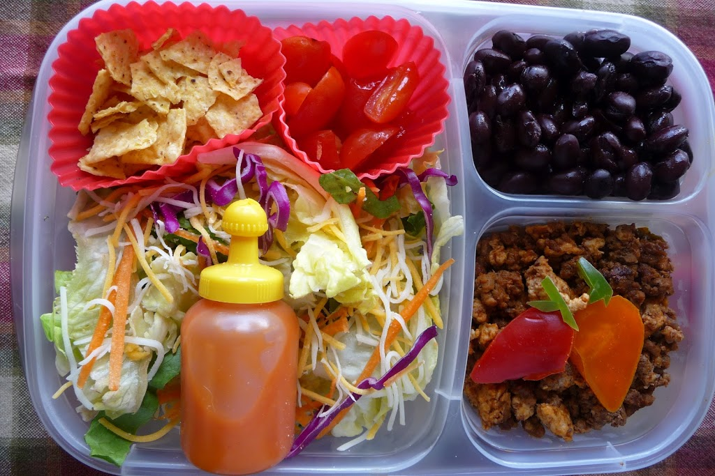 A trio of lovely lunches