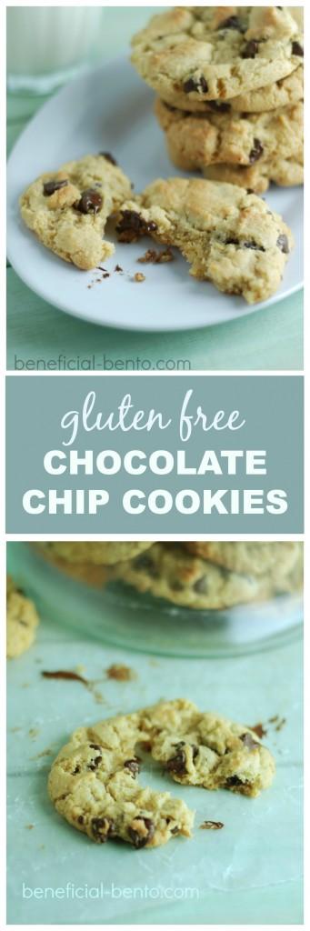 hot, gluten free chocolate chip cookies