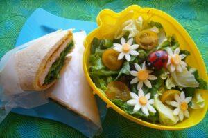 Daisy and Ladybug Salad