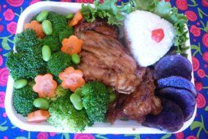 Gluten Free Teriyaki Chicken Bento