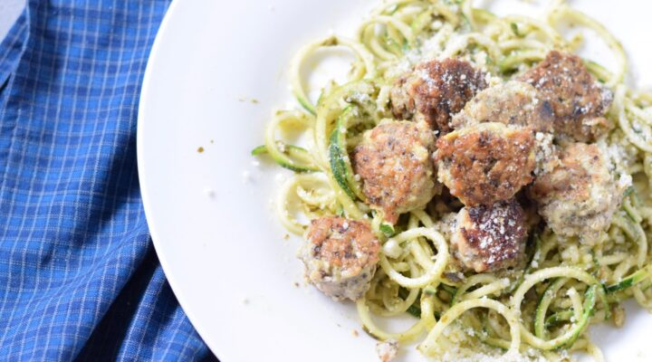 Recipe for Gluten Free Chicken Meatballs