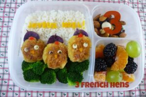 3 French Hens Bento