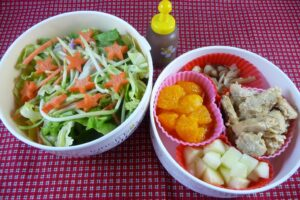 Simple Salad Bento for a Busy Day!
