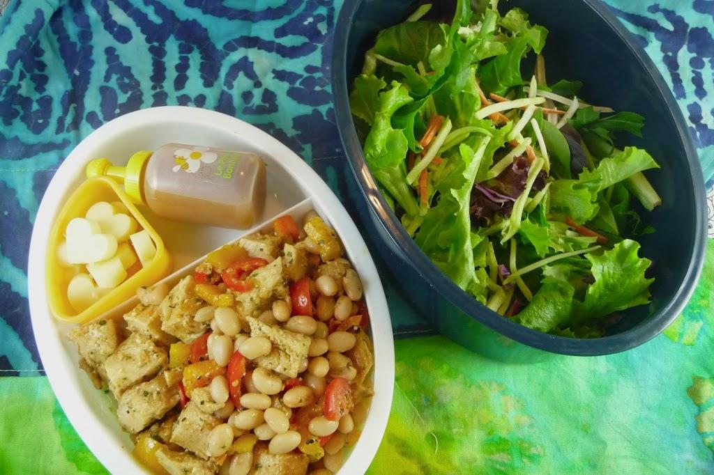 Tuscan Chicken Salad Bento