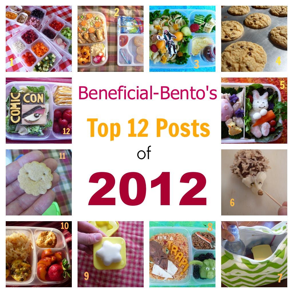 Top 12  Bento of 2012
