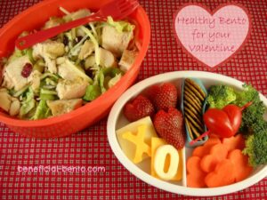 Healthy Bento for your Valentine