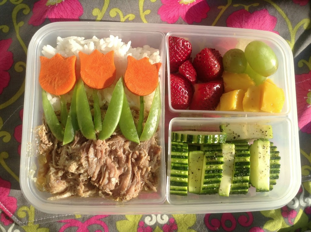 I'm back! Catching Up on Last Month's Lunches