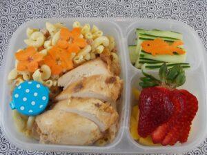 Chicken and Macaroni Salad Bento