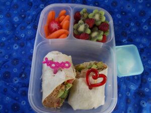 Smoky Chipotle Pork Wrap Bento