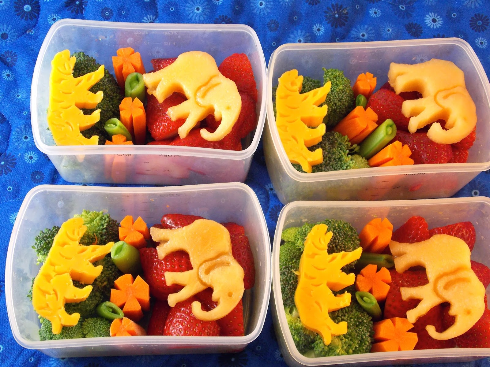 Fit & Fresh snack containers - cute snacks!
