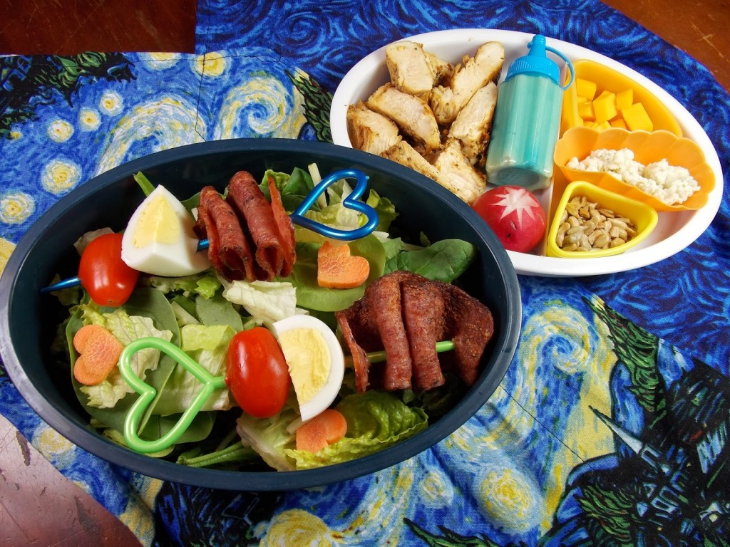 what a fun way to serve an old favorite for lunch!