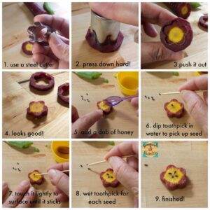 Bento Tutorial – How to Make Pretty Carrot Flowers