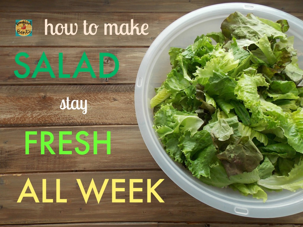 How To Make Salad Stay Fresh All Week