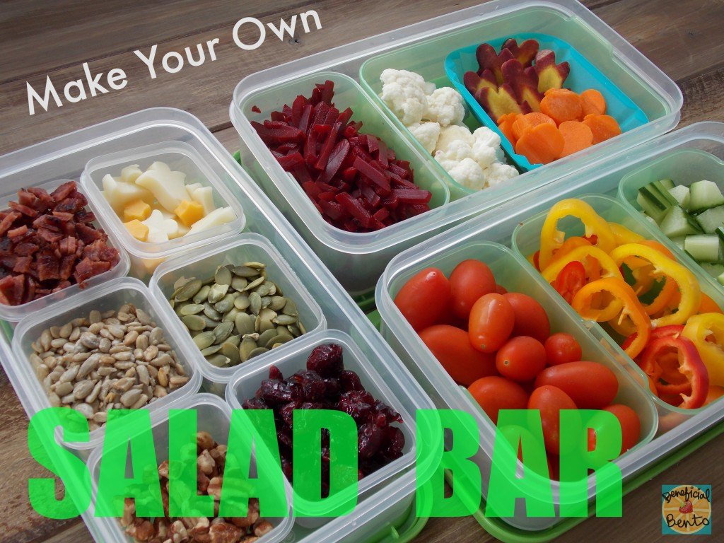 Make Your Own Salad Bar, open