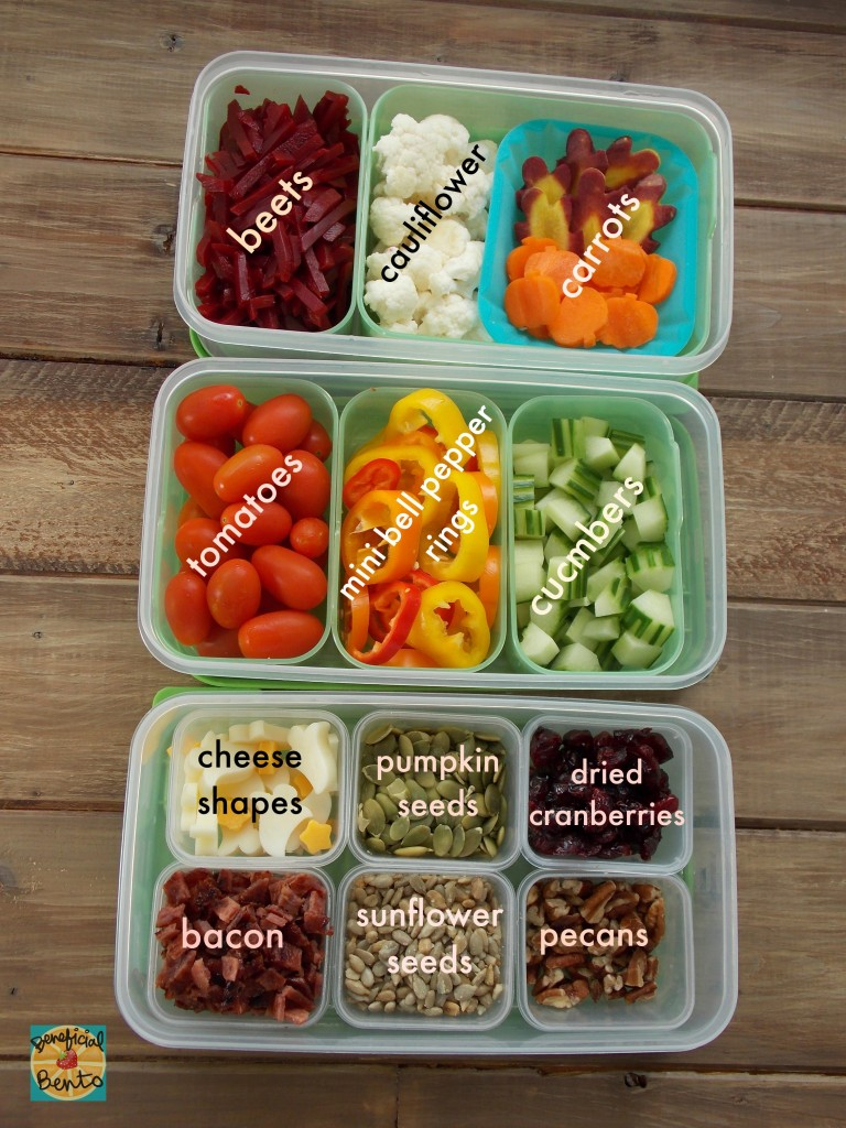 Make your Own Salad Bar, inside