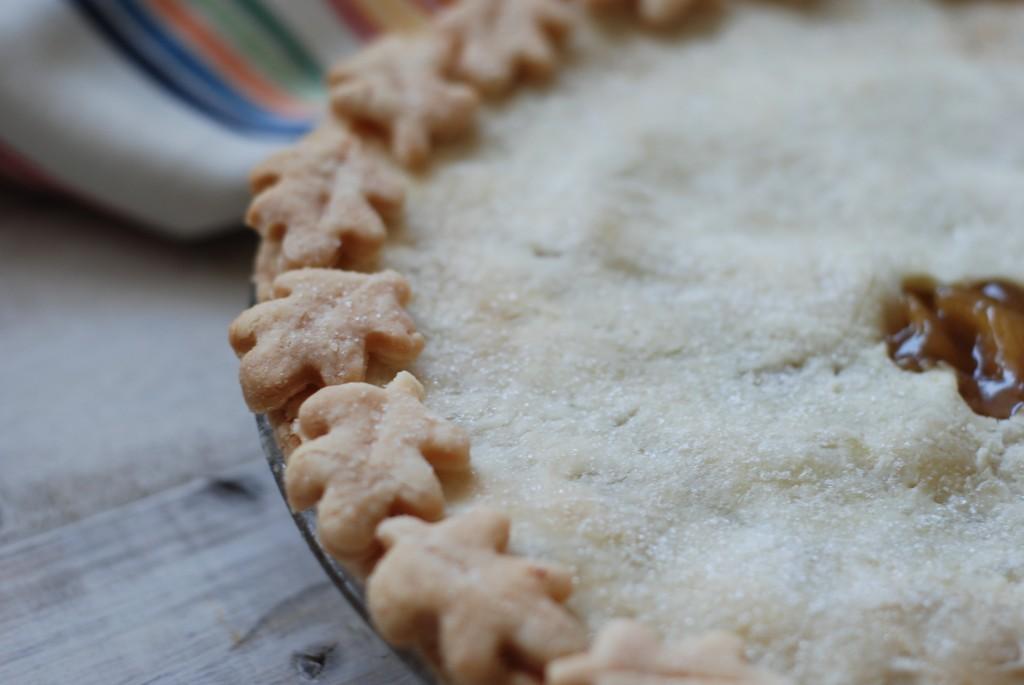 pie crust, baked