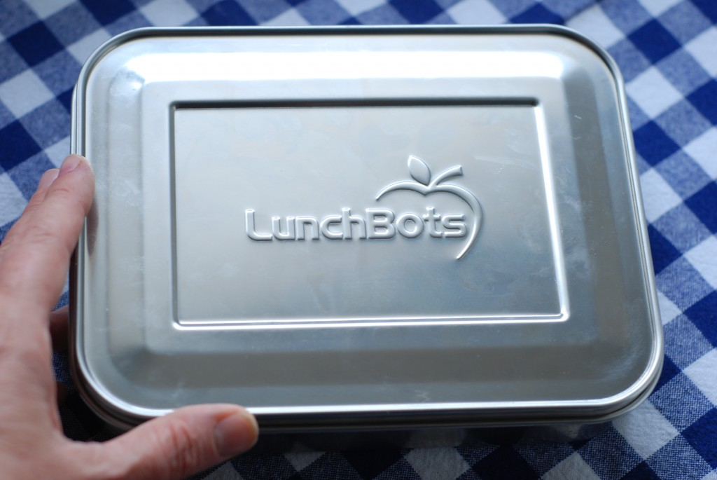 LunchBots Bento Uno, with lid