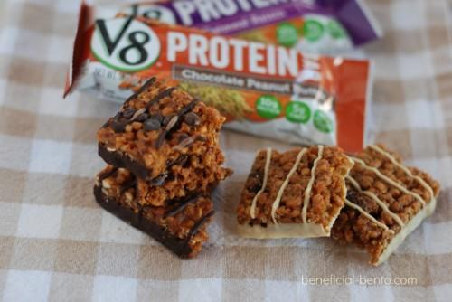 10 healthy snacks, 2 bars