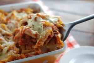 Recipe for Baked Ziti Casserole
