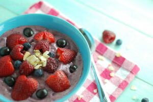 it's kind of like a smoothie, kind of like ice cream, kind of like fruit salad - and SO delicious!