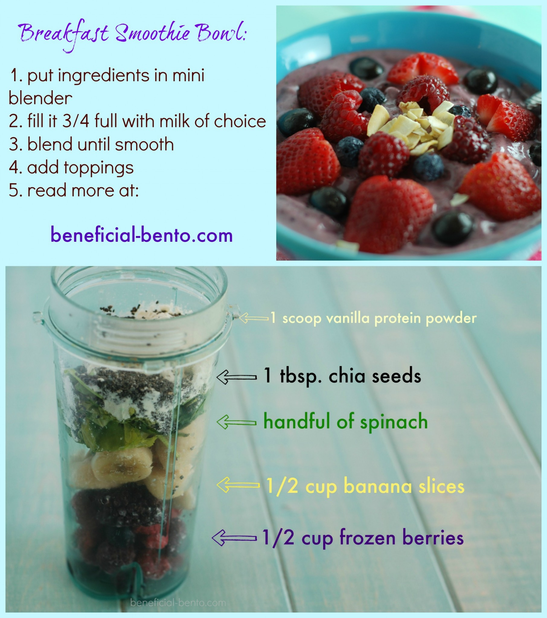 great way to pack a lot of nutrients into a treat that tastes like ice cream!