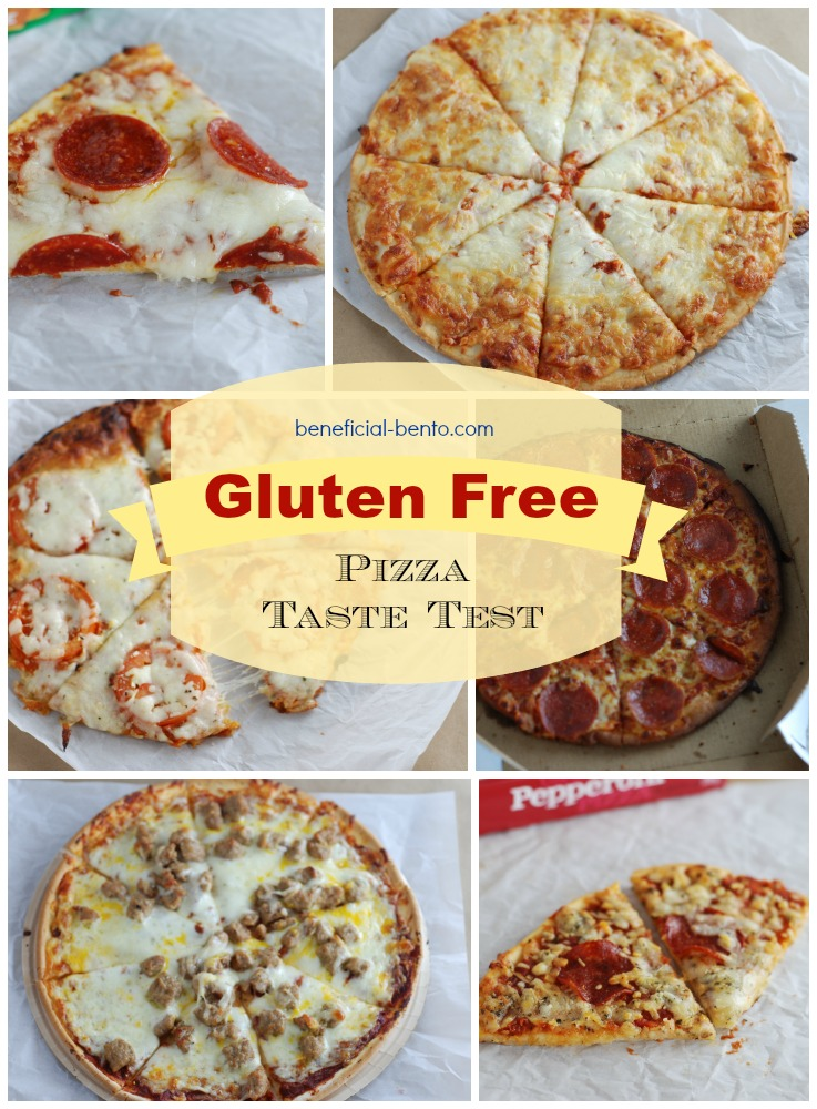6 of the top frozen and takeout gluten free pizza options, with our opinions on which are best