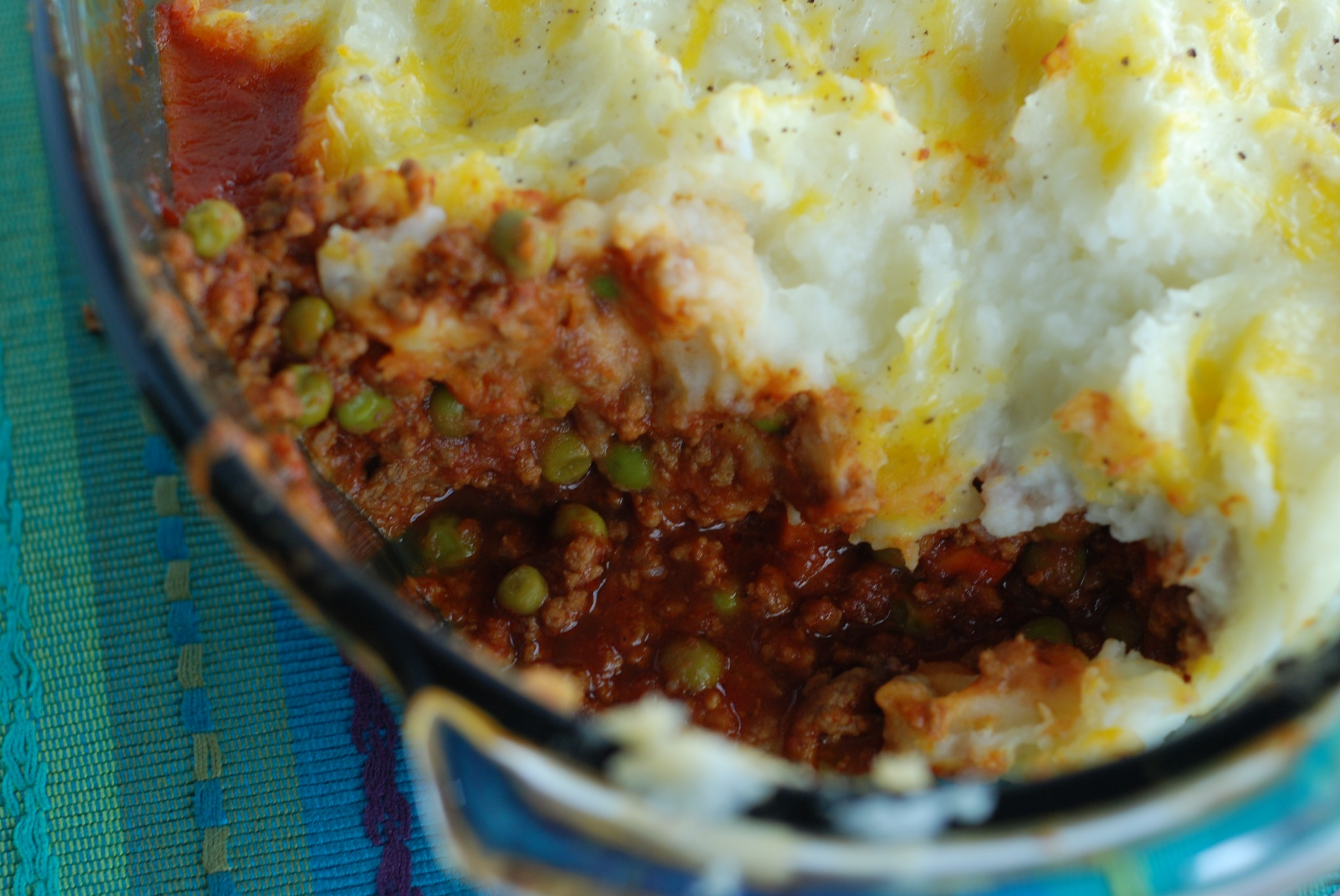 Best Shepherd's Pie - you won't believe this rich dish is lightened up with cauliflower and cottage cheese!