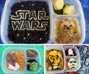 Star Wars Bento Round-up