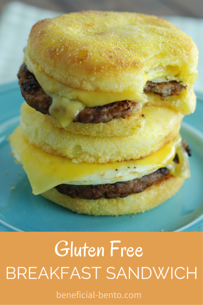Gluten Free Breakfast Sandwich