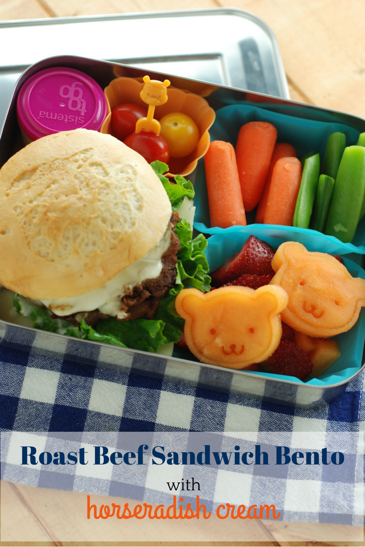 roast beef sandwich - beneficial bento