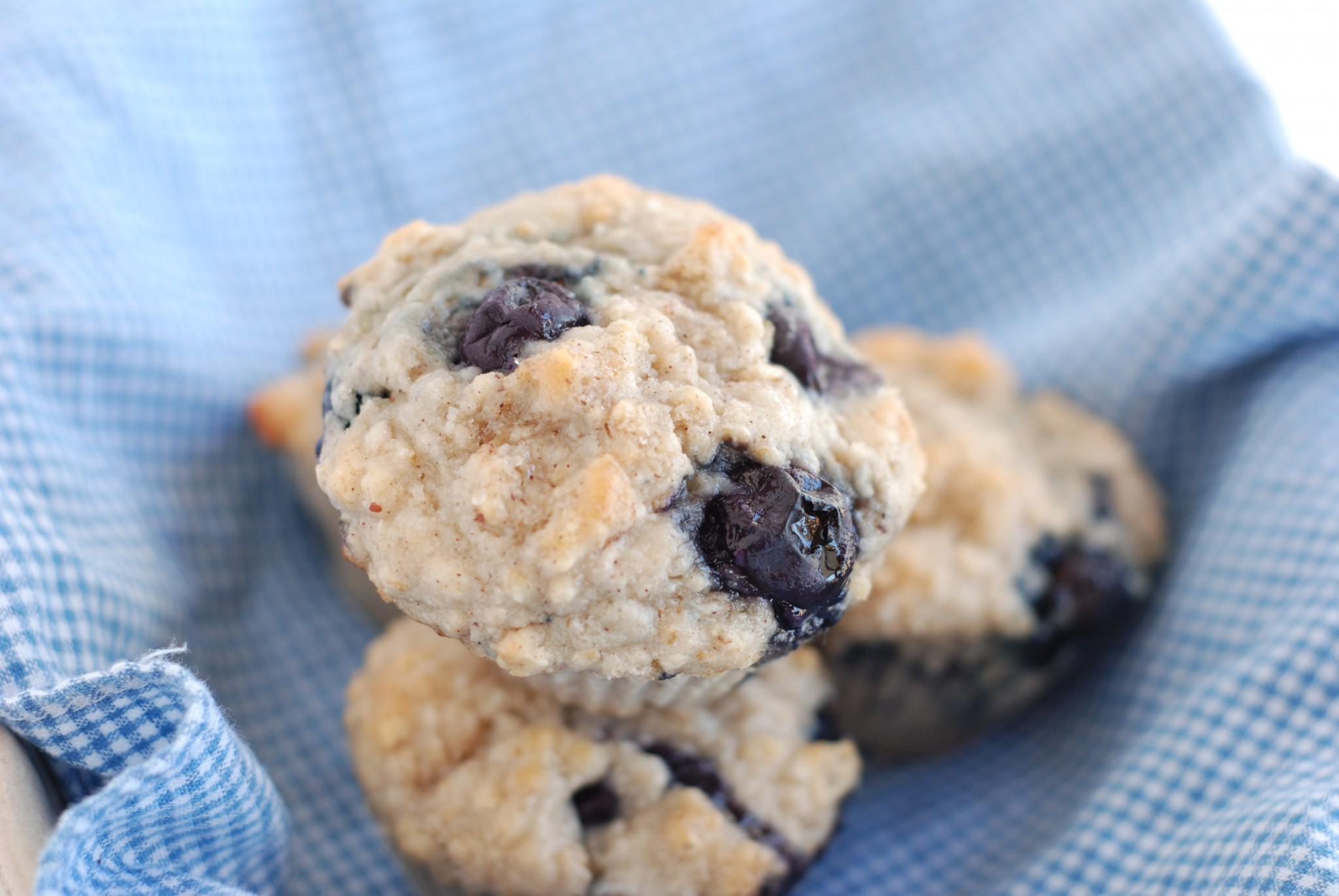 GF blueberry muffins