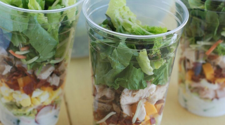 Salad Cups – the Portable Mason Jar Salad
