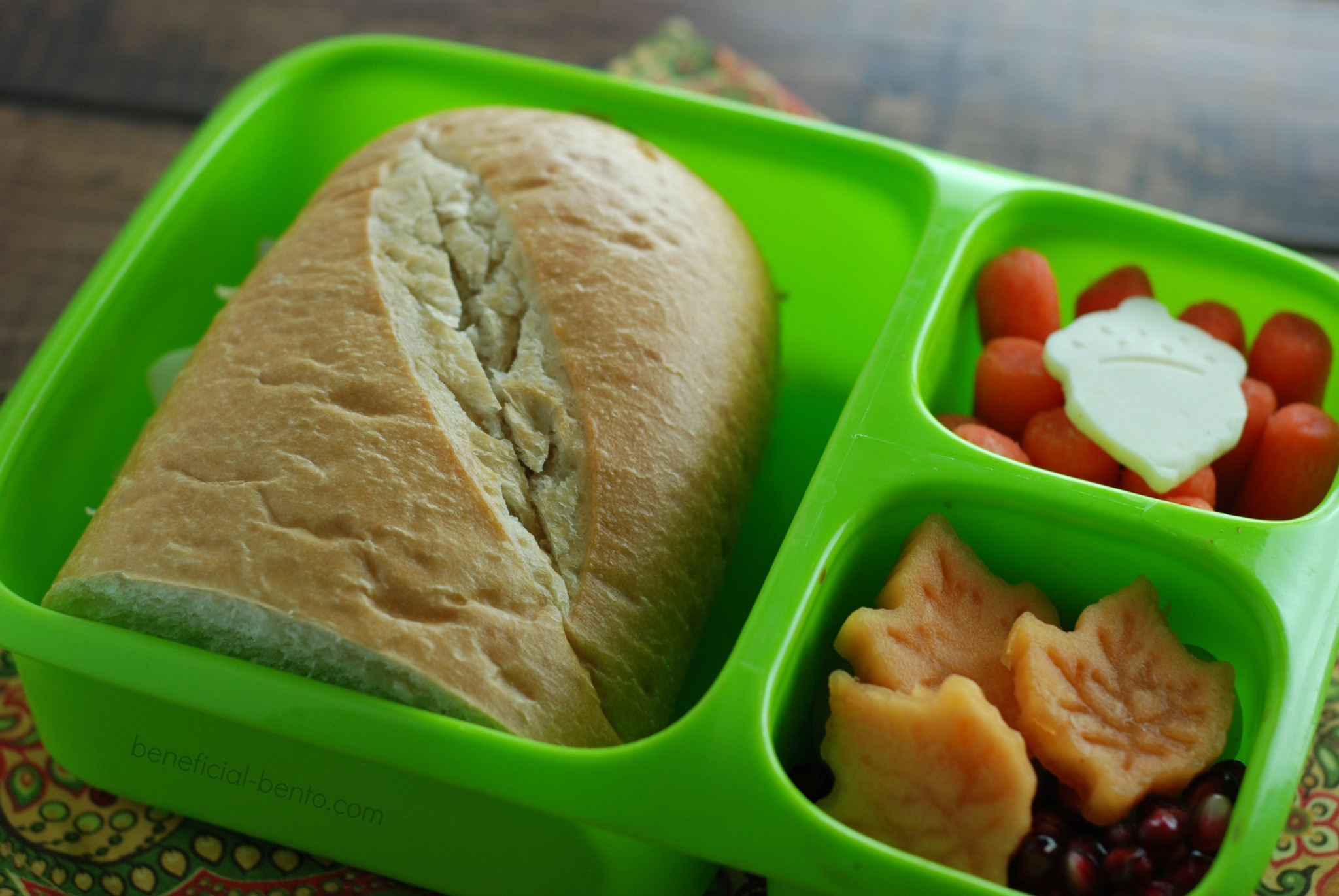 my Goodbyn Hero was the perfect box for this hearty sandwich!