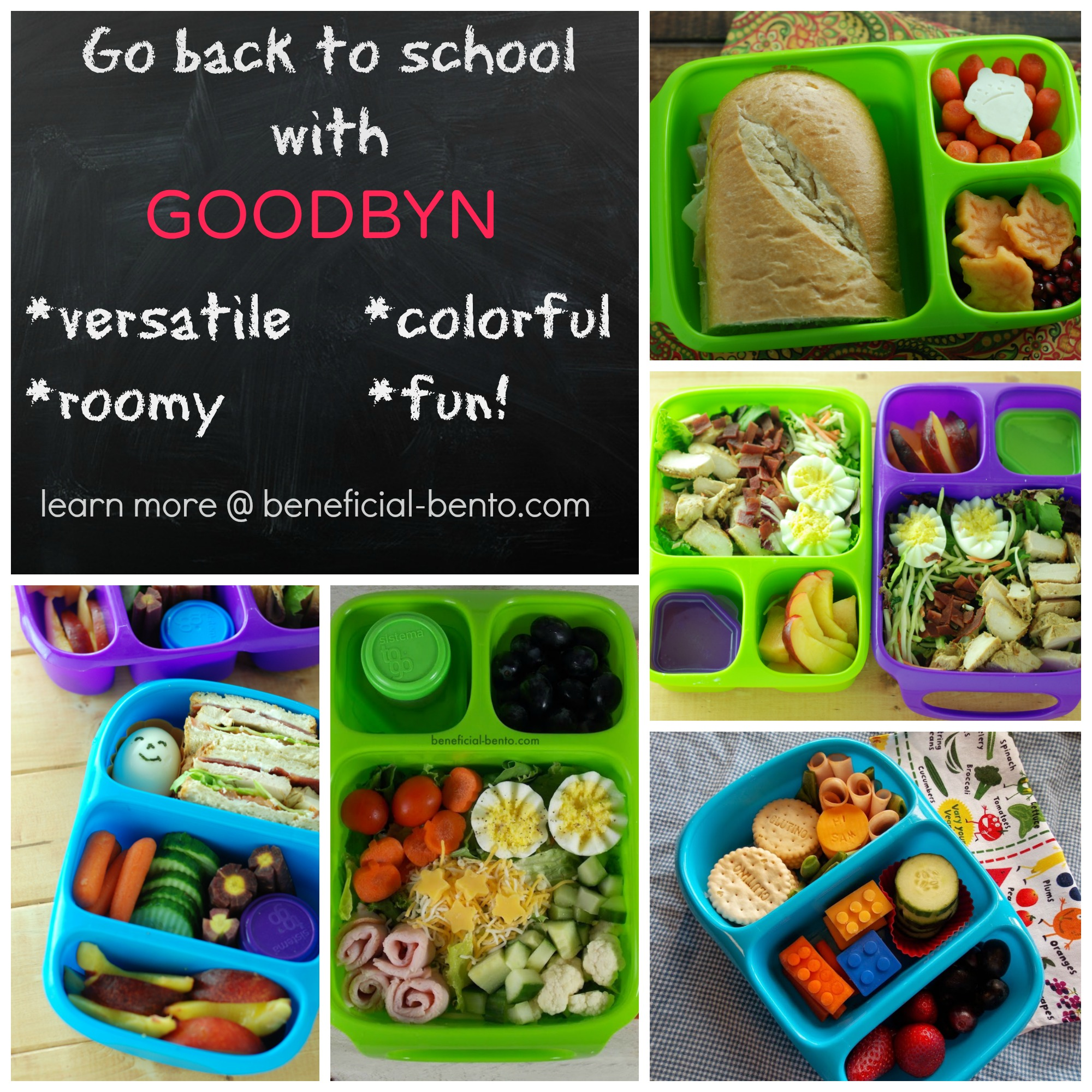 back to school with goodbyn beneficial bento. Black Bedroom Furniture Sets. Home Design Ideas