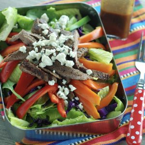 Steak and Blue Cheese Salad Recipe