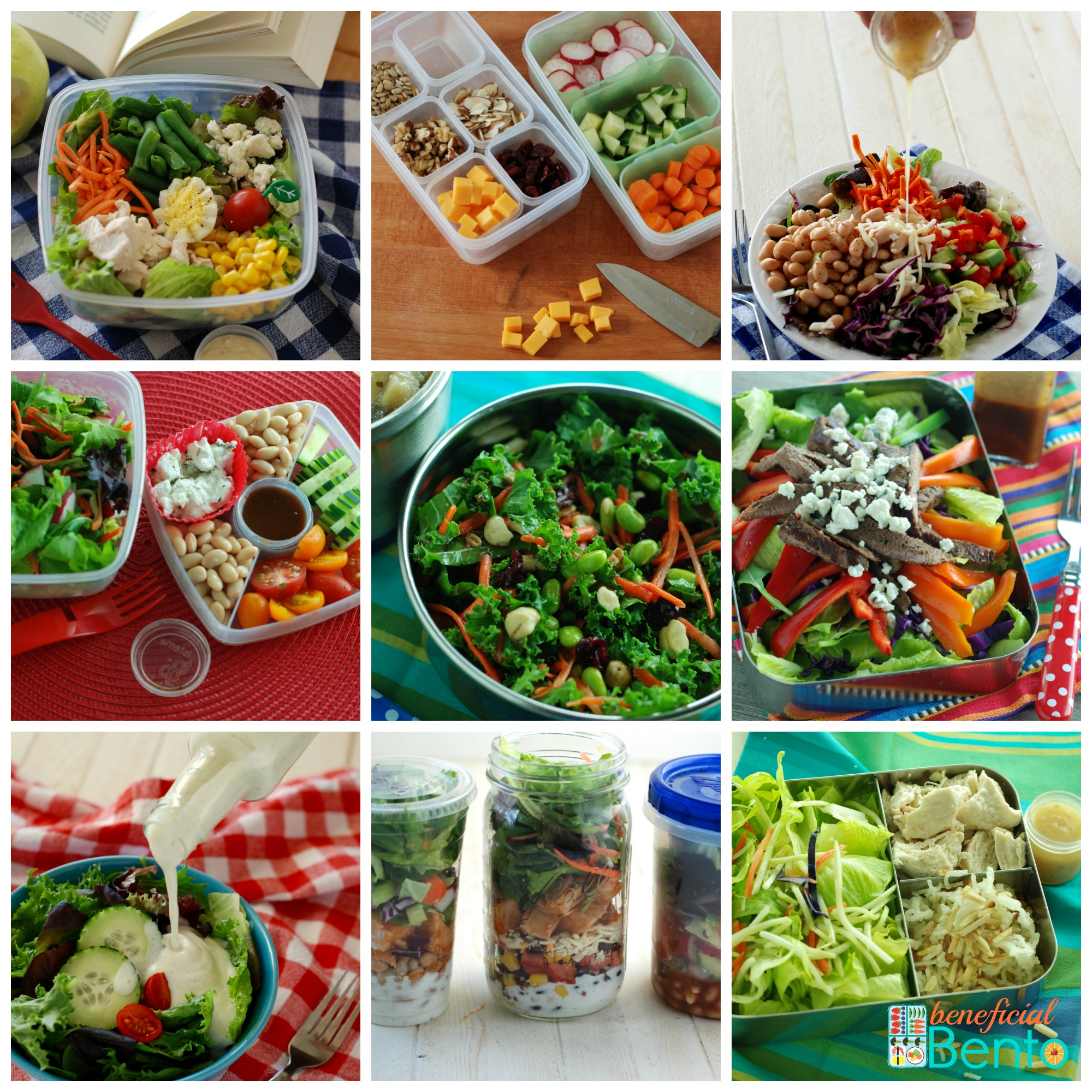 My new book Fresh Lunch Salads is now available!