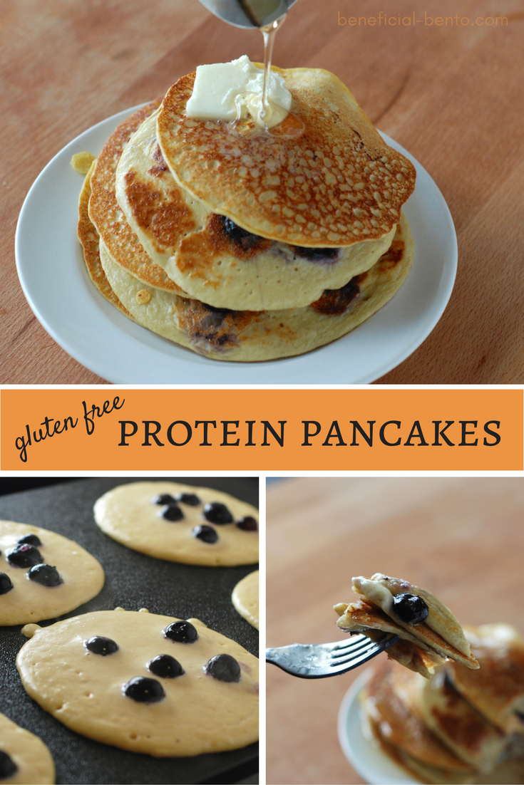 These are low calorie, high protein pancakes that are perfect for dieters. They are also gluten free, too! this is one of my favorite breakfasts now!