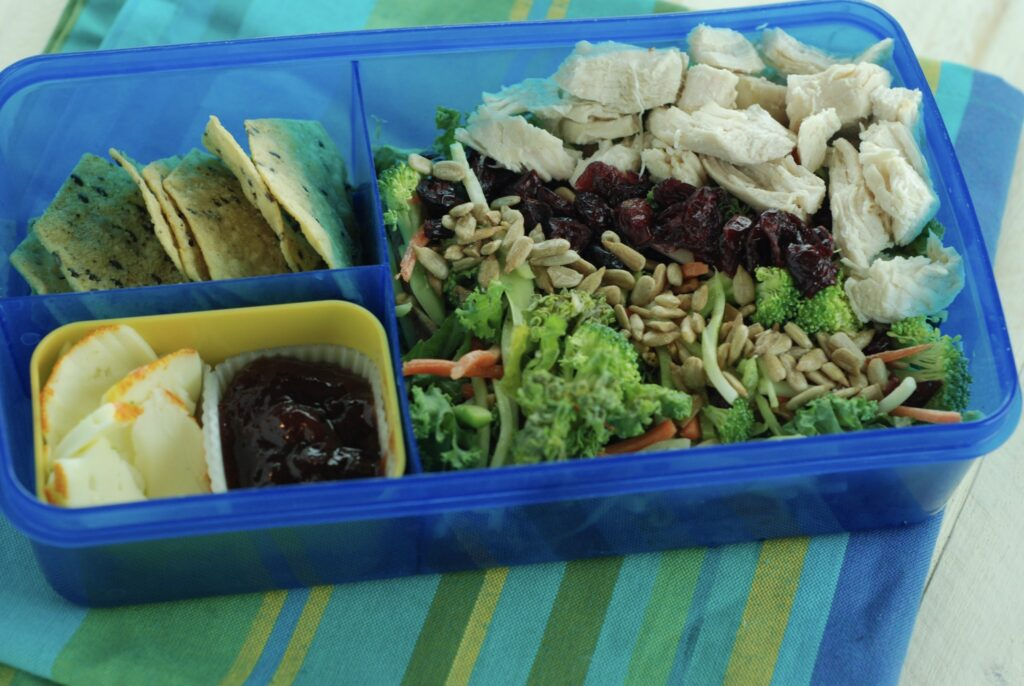 Healthy Chicken Salad Bento