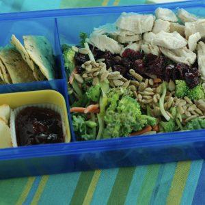 Healthy Chicken Salad Bento