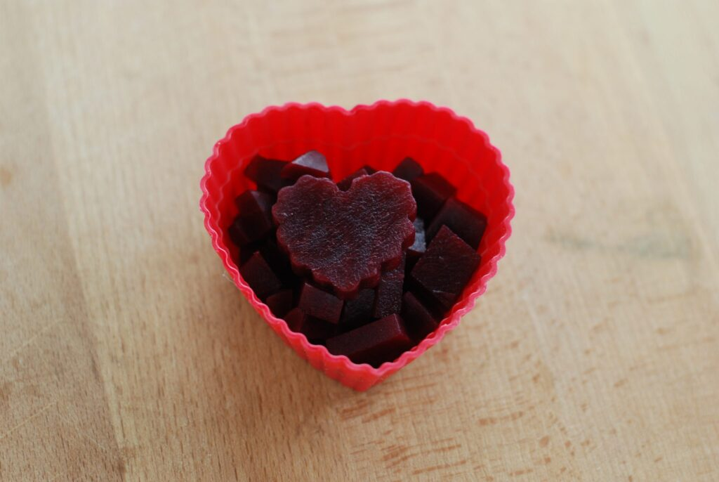 This is a picture of natural red beets. Read more at beneficial-bento.com