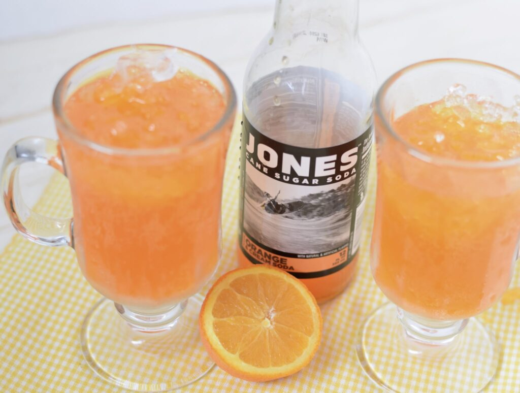 this is a picture of orange cream soda by Jones soda. Read more at beneficial-bento.com.