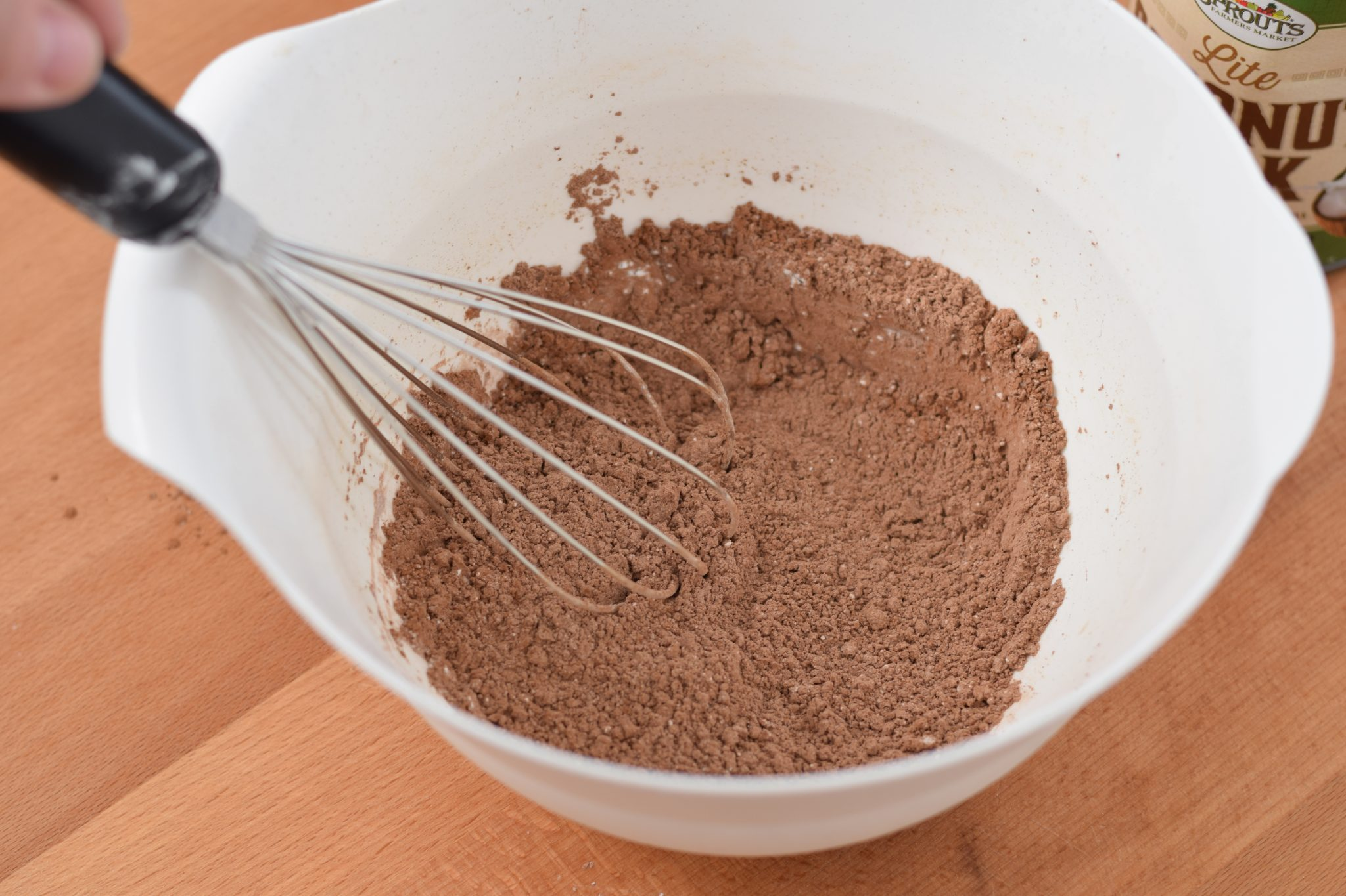 This is a picture of step 1 of how to make my Homemade Chocolate Pudding. Recipe at benenficial-bento.com