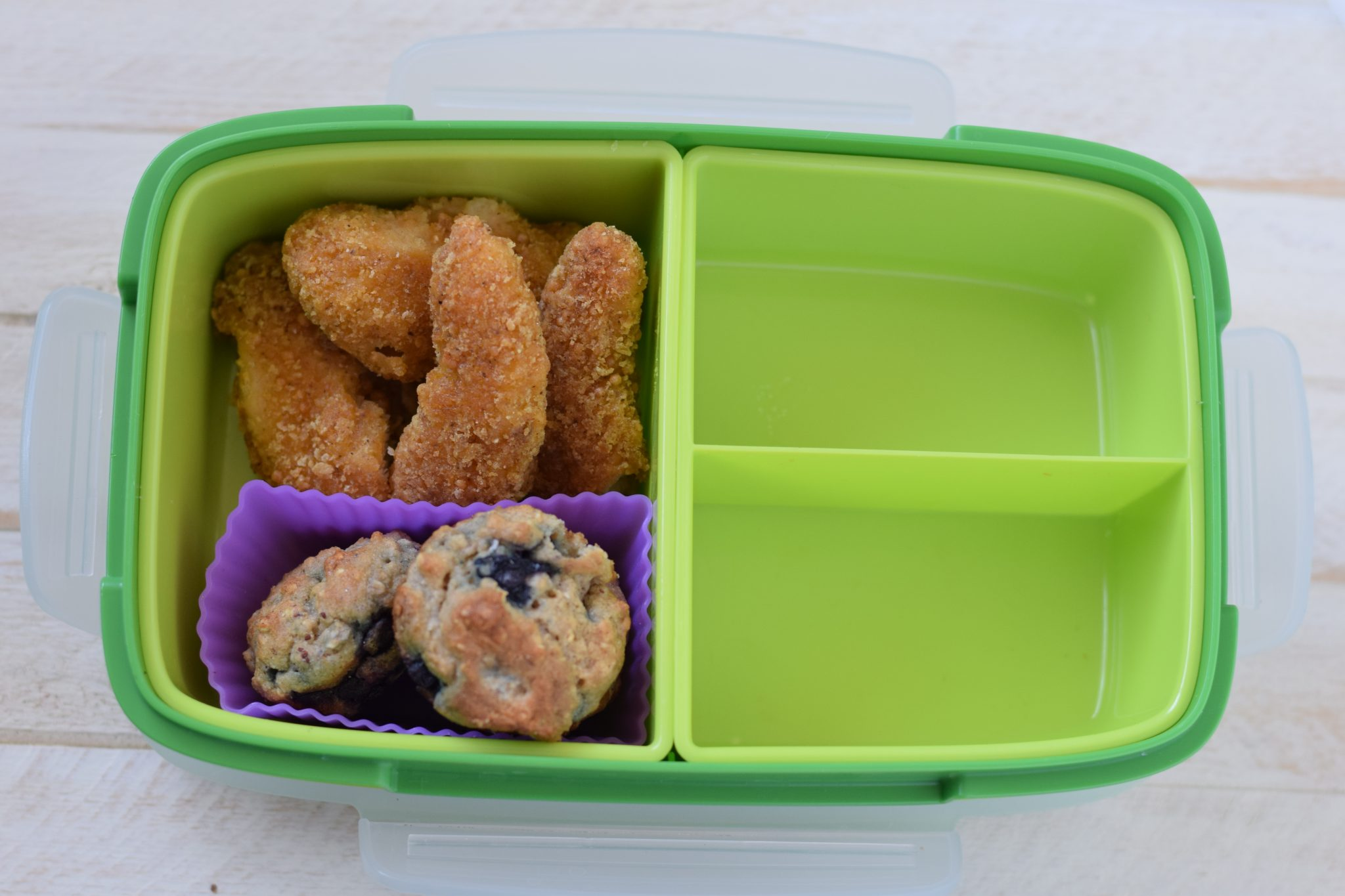 this is a picture of step 1 of how to make a healthy bento box. Details at beneficial-bento.com