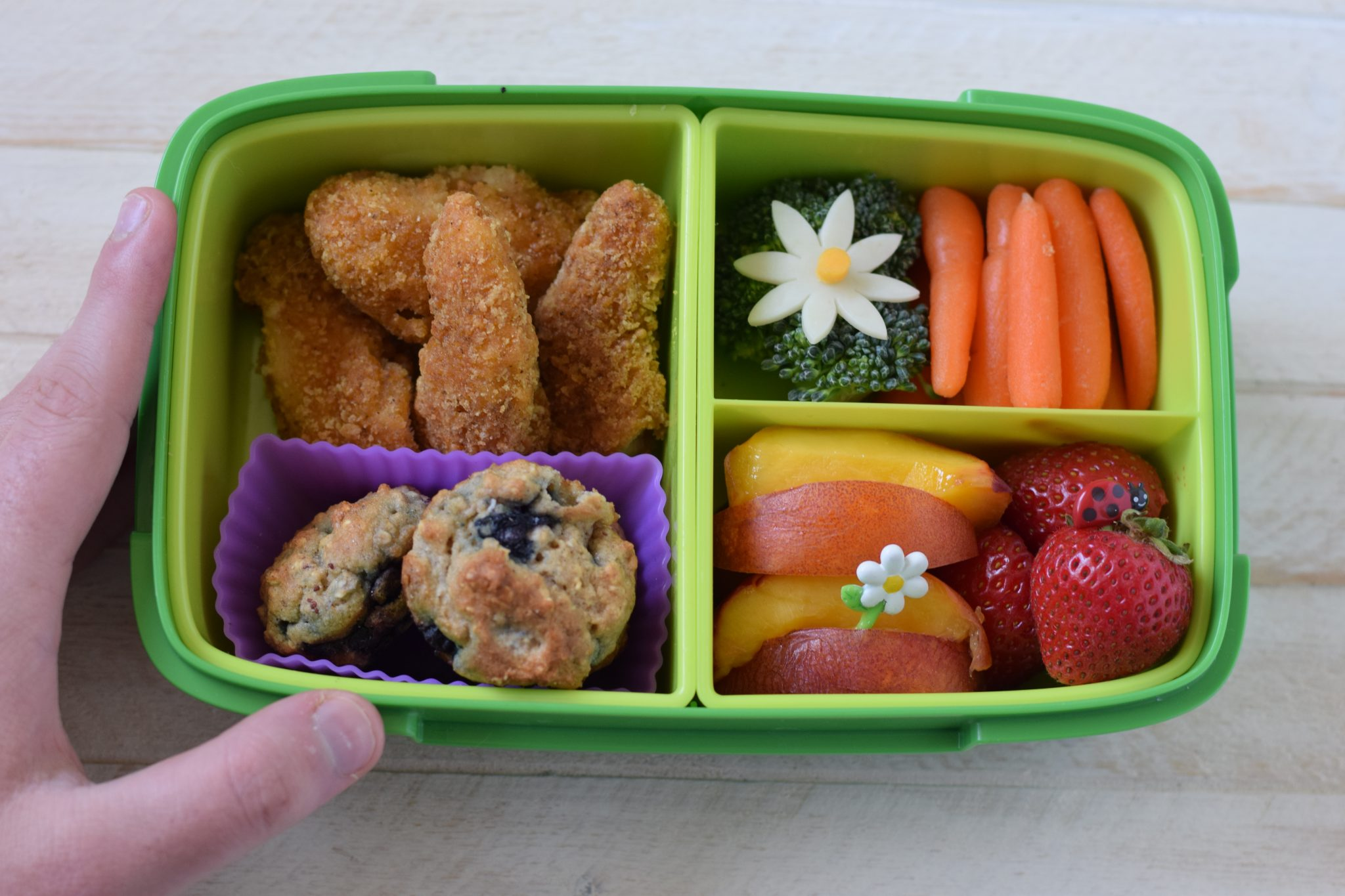 this is a picture of a child's bento box. Details at beneficial-bento.com
